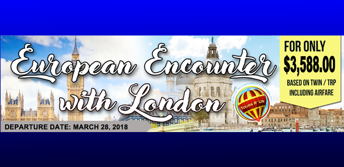 EUROPEAN ENCOUNTER WITH LONDON
