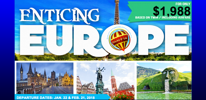 ENTICING EUROPE