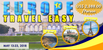 EUROPE TRAVEL EASY Featured Image Ecozone Travel 2018