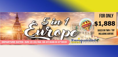 5 in 1 Europe 2019 March (3) Packages