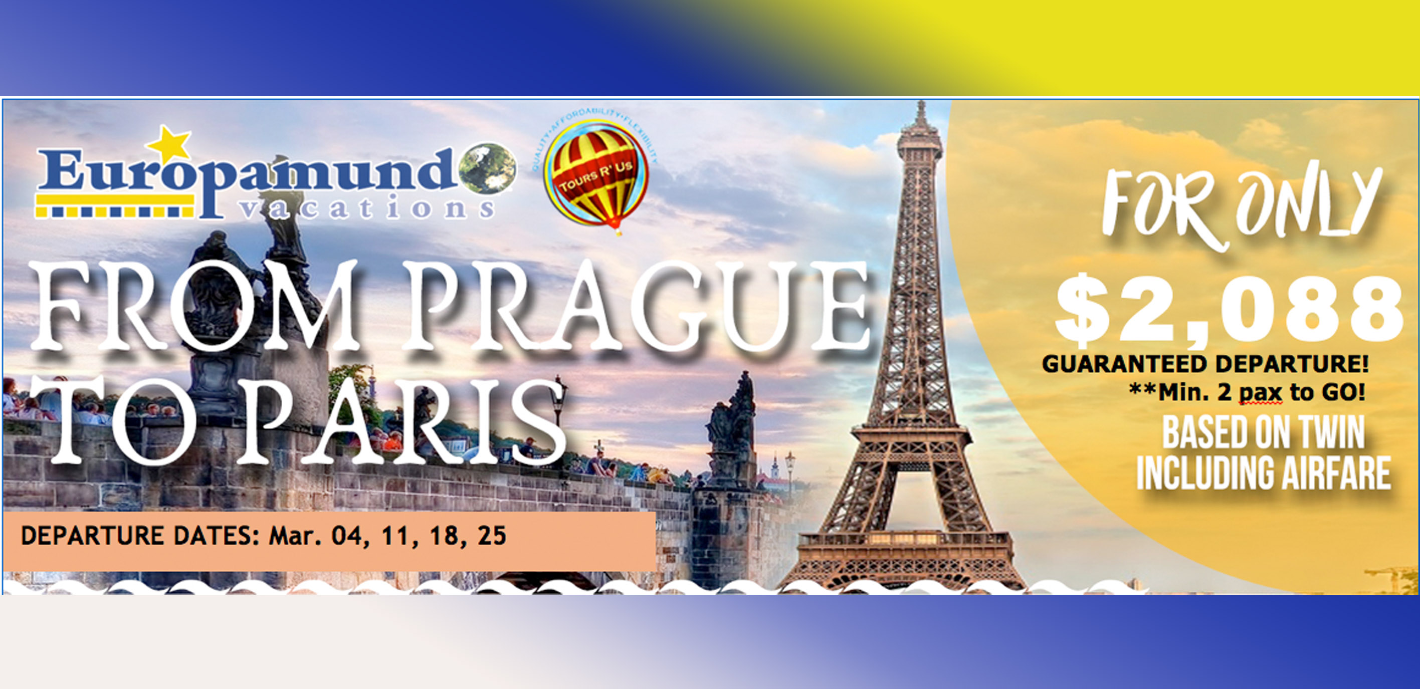From Prague to Paris Featured Image