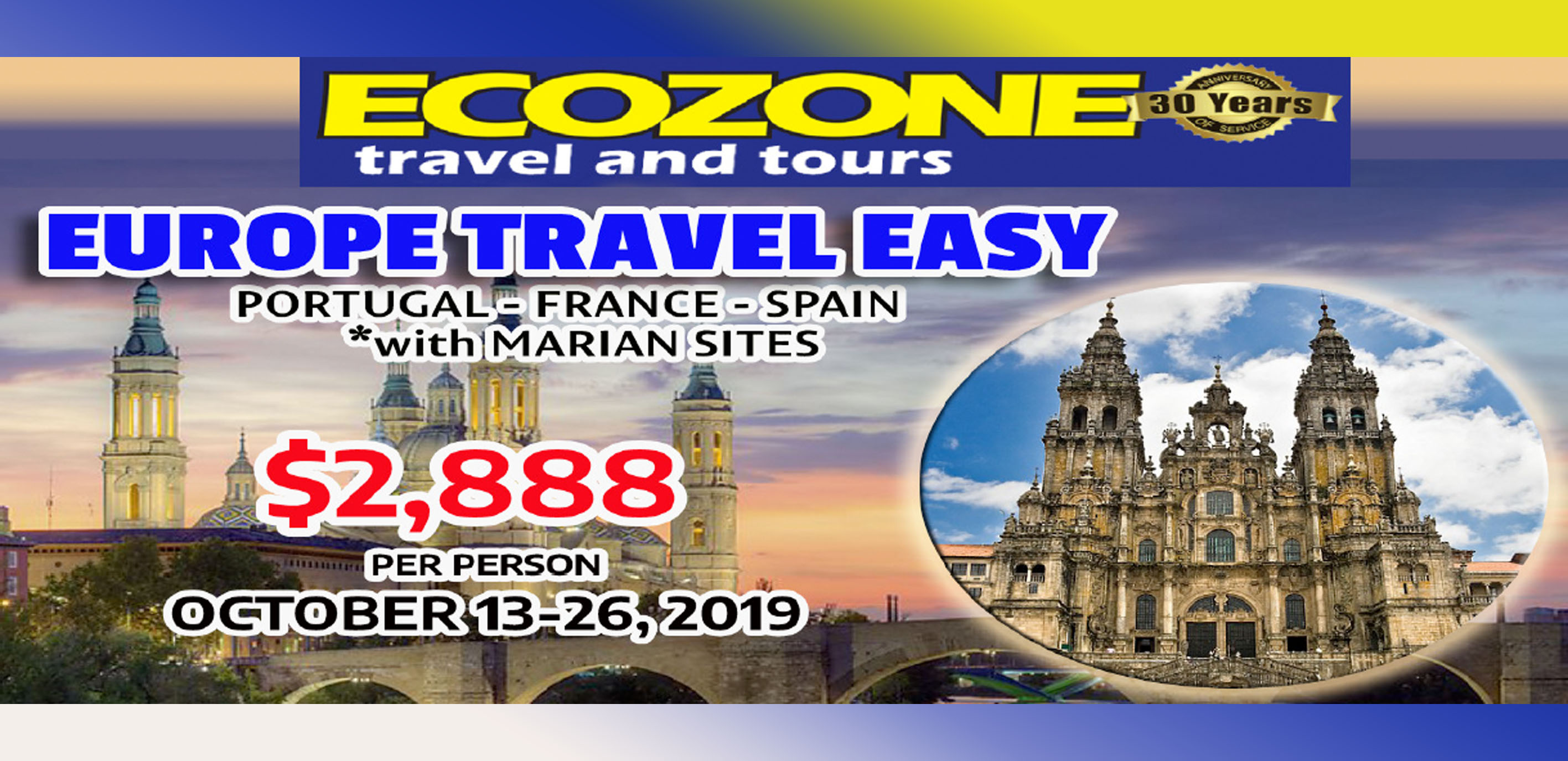 Europe Travel Easy Featured Images 2019 June Packages