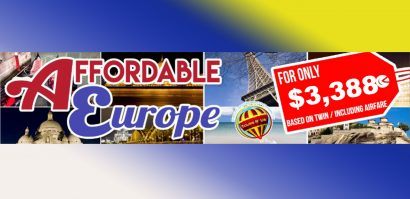 AFFORDABLE EUROPE - APRIL & MAY DEPARTURES Featured Images 2020 February Packages